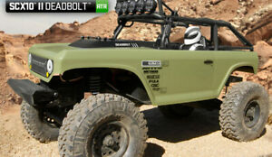 Axial 1/10 SCX10 II Deadbolt RTR RC Rock Crawler...