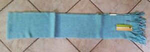NWT New Unisex SMARTWOOL Longview Scarf Merino Wool Blend Mineral Heather Blue