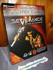 SEVERANCE BLADE OF DARKNESS LIMITED EDITION+T SHIRT x PC NUOVO-PAL ITA/UK/FR!