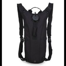 Hydration Pack - 3L - Military Grade - Black Water Backpack
