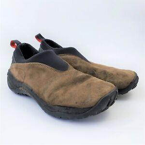 Merrell Orbit Gunsmoke Slip On Shoes Mens 9.5 MOC Leather Suede Casual