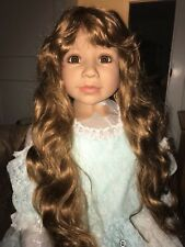 Masterpiece Dolls Cinderella Golden Brown Hair, Brown  Eyes, Monka Levenig, 48""
