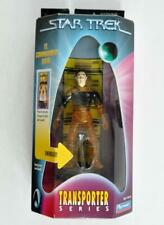 PLAYMATES 1998 STAR TREK LT. COMMANDER DATA TRANSPORTER SERIES W/ LIGHT N SOUND