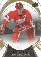 2015-16 Upper Deck Trilogy Hockey #91 Steve Yzerman Detroit Red Wings