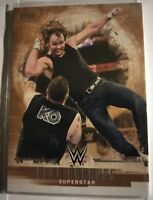 WWE Dean Ambrose #12 2017 Topps Undisputed Bronze Parallel Card SN 64 of 99