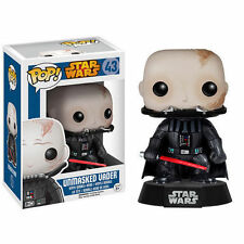 Star Wars desenmascarado Darth Vader 9.5cm Pop Figura Cabezón de vinilo Funko