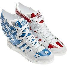 Adidas Jeremy Scott JS Wings 2.0 American USA Flag Hi-Top Sneakers Shoes Mens 11