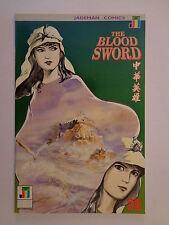 The Blood Sword MA Wing Shing M Baron T Wong #30 Jademan Comics January 1991 NM