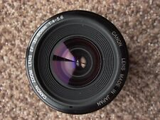 Canon Zoom EF lens 35-80mm F:4-5.6 TESTED cap MINTISH EOS R RP M6 5D Ra 7D T5 t7