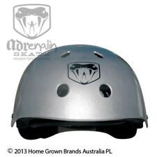 Adrenalin Skate Helmet Silver Suits Junior to Adult