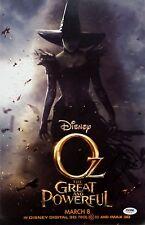 Sam Raimi OZ The Great And Powerful Signed 11x17 Photo Director Disney PSA