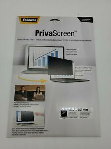 """Fellowes PrivaScreen Blackout Privacy Filter 15.0"""" CRC48001"""