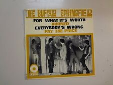 "BUFFALO SPRINGFIELD:For What It's Worth+3-France 7"" 1967 Atco Records 123 EP PCV"