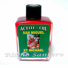 Spiritual Anoint Oil ST MICHAEL- SAN MIGUEL 1/2 oz Spell Wicca Ritual Aceite