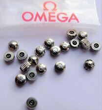 GENUINE OMEGA NEW WATCH CROWN/WINDER BUTTON. MOST SIZES. FREE WORLD POST