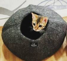 Walking Palm Cat Cave Bed - Large - Heathered Gray Free Shipping from Usa