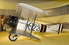 BAT FK-23 Bantam Single-Seat Fighter Airplane Desktop Kiln Dry Wood Model Large