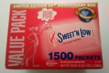Rare Vintage Pink Panther 50th Anniversary Sweet 'N Low Limited Edition Box