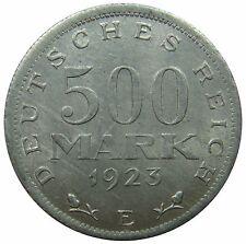 (B81) - Deutschland Germany - 500 Mark 1923 E - Reichsadler - UNC - KM# 36