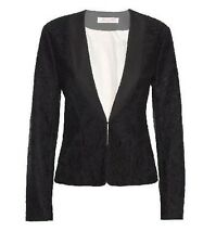 ALANNAH HILL 'My Game Show Queen' Black Lace Jacket Size 8 Small S RRP:$329