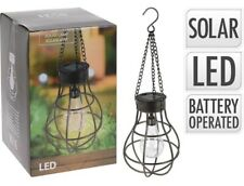Solar Hanging Lamp Light Bulb Including 10 LED Bulb And Suspension.