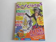 LES P'TITES SORCIERES N° 13 OCTOBRE 2000 - SPECIAL HALLOWEEN