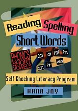 Reading and Spelling Short Words by Hana Jay made easy (31 worksheets)