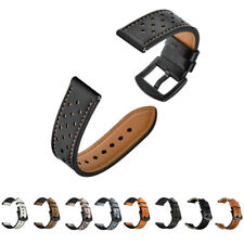 20/22mm Watch Band Soft Leather Watch Straps for Samsung Galaxy Watch 42mm 46mm