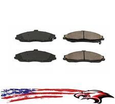 Front Brake Pads Cadillac XLR 04-09 Chevrolet Corvette 97-13 GTO Pontiac 05-06