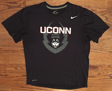5909fc36f Large Men's Nike DRI-FIT UConn Huskies Football 2015 St. Petersburg Bowl T-
