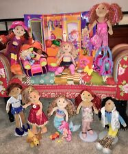 Lot #1 of Groovy Girls Dolls~Case~Comfy Arm Chair~Mermaid~Accessories~Pets~Etc.