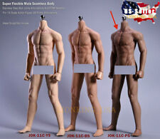 1/6 Super Flexible Male Muscular Seamless Body DARK JIAOUDOL ❶USA IN STOCK❶