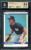 Don Mattingly Rookie Card 1984 Fleer #131 BGS 9.5 (9 9.5 9.5 9.5)
