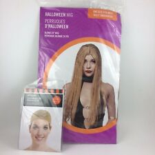 """New Long Blond Synthetic Hair Wig 24"""" Straight with Cap Halloween Costume Sexy"""