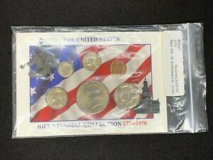 1976-P US BU SET COINS IN DISPLAY CARD * FREE USA SHIPPING *