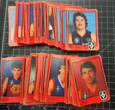SCANLENS 1982 Footy cards 179/180