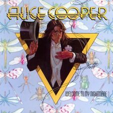 ALICE COOPER - WELCOME TO MY NIGHTMARE D/Remastered CD w/BONUS Trax ~ 70's *NEW*
