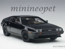 AUTOart 79917 DELOREAN DMC 12 1/18 MODEL CAR METALLIC BLACK
