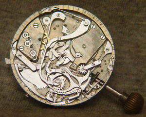 Aggasiz (?) high grade minute repeater movement ~ for wristwatch conversion?