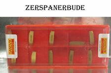 10 Wendeplatten N123E2-0200-0002-CM 4125 SANDVIK Stechdrehen Neu mit Rechnung
