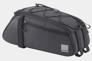 Sahoo 8L Essential Series Convertible Bike Trunk Bag/Pannier Black