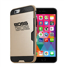 Ford Mustang Boss 302 iPhone 6 6s Ultra Thin TPU Golden Phone Case