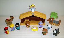 Fisher Price Little People Christmas Nativity Play Set Playset Toys