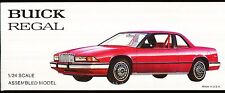 1988 BUICK REGAL PROMO CAR RED 1/24 SCALE SEALED