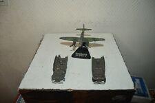 LOT 3 VEHICULE MILITAIRE 2 DODGE 6X6 FJ FRANCE JOUET + 1 AVION  JUNKERS JU-88A-4