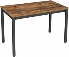 Wood Computer Desk Laptop PC Table Home Office Study Simple Workstation