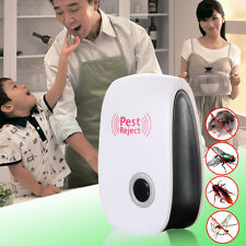 Electronic Anti Pest Ultrasonic Bug Mosquito Cockroach Mouse Rat Killer Repeller
