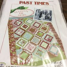 PAST TIMES QUILT PATTERN #TOT006 BY THREADS OF TIME--MAISON DE NOEL