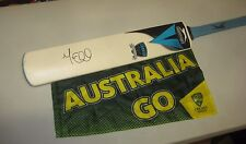 Michael Clarke (Australia) signed full size Slazenger 389 NForce Cricket Bat
