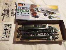 """Monogram 1/48 Junkers 87-G1 STUKA """"Tank Buster"""" Vintage Modèle"""